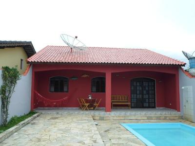 Casa 3 Quartos Com Piscina - 1 Suíte