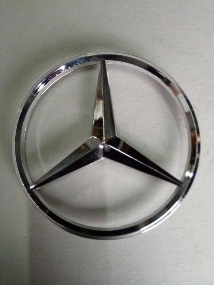 Estrella Plastica Para Mercedes Benz 14 Cm