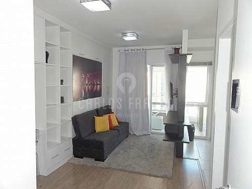 Apartamento Mobiliado Pronto Para Morar. Elegante E Funcional. - Cf59761