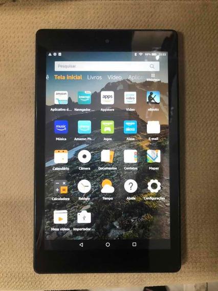 Tablet Amazon Fire Hd 8 2018 Kfkawi 16 Gb