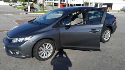 Honda Civic 2014 Lxr Automatico - Revisado Concessionaria