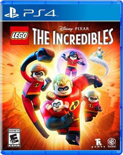 ¡¡ Lego The Incredibles Para Ps4 En Wholegames !!