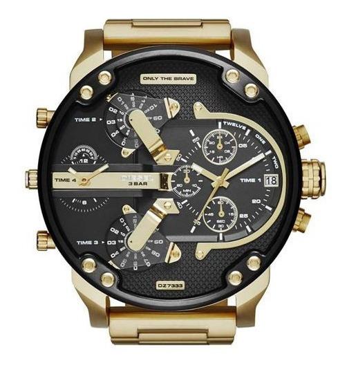 Relógio Diesel Dz7333 Mr. Daddy 100% Original Com Caixa Nov