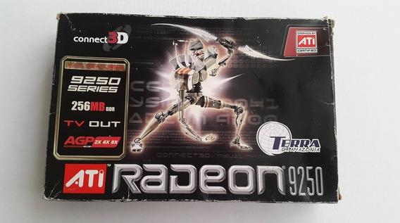 Tarjeta De Video Ati Radeon 9250 Agp 256 Mb.