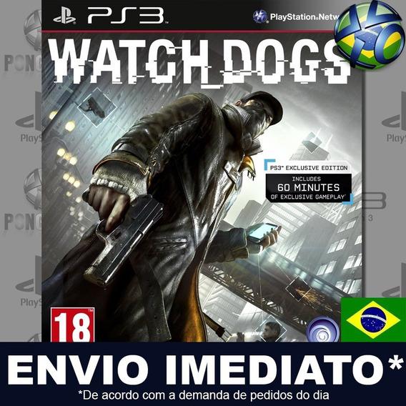 Watch Dogs Ps3 Psn Dublado Português Pt Br Jogo Em Promoção