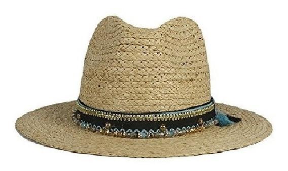 Sombrero De Sol Para Dama Y Caballero Moderno Tejido De Paja