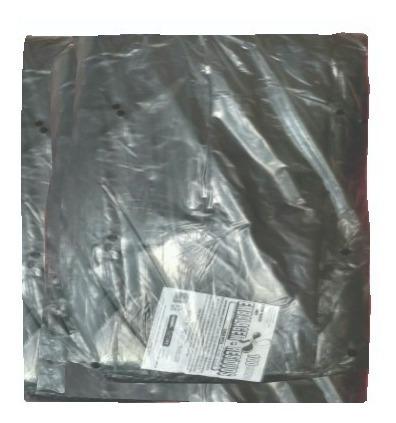 Leiraw Saco Plástico Carga Média 100 Litros Preto Reforçado