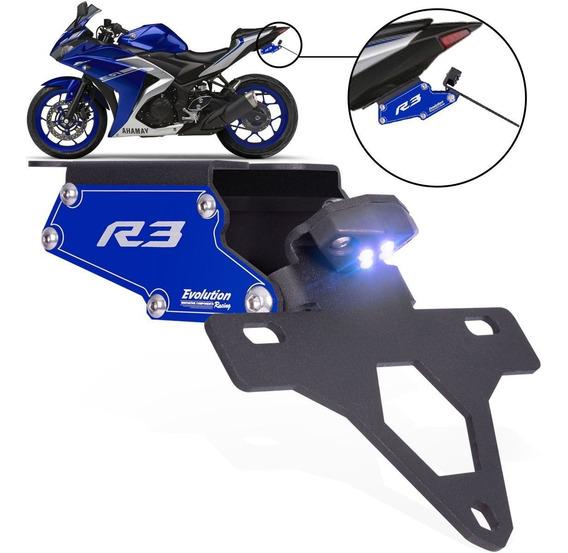 Suporte Eliminador De Rabeta Placa Yamaha Yzf R3 2015/...