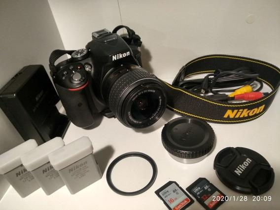 Nikon D5300 Pouquíssimos Cliques Com Kit Completo!
