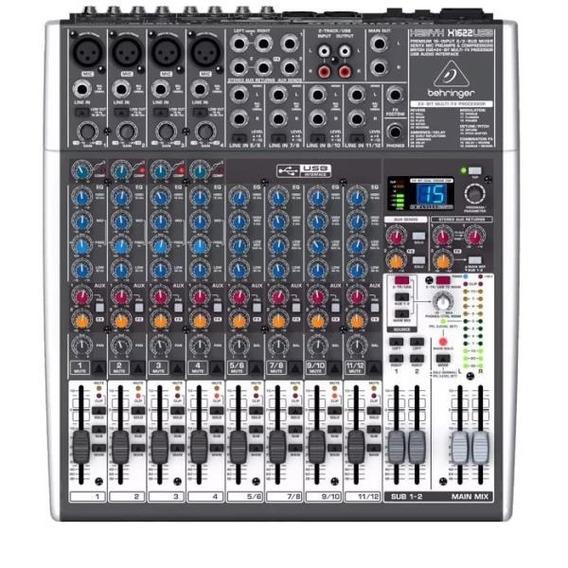 Mixer Behringer X1622 Usb Xenyx 110 V 16 Canais
