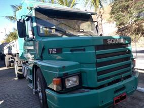 Scania Scania T112 Hs + Carreta Krone 3 Em 1