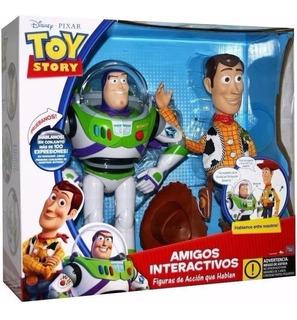 Toy Story Buzz Y Woody Amigos Interactivos
