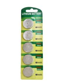 15pcs Bateria Moeda Cr2450 3v Pilha Lithium Blister Nova