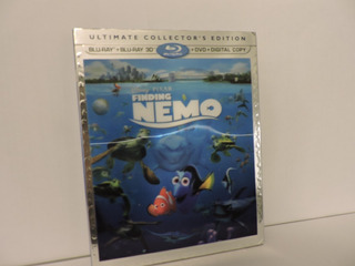 Finding Nemo Buscando A Nemo 3d Blu Ray Collector´s Edition