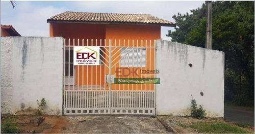 Imagem 1 de 14 de Casa Com 2 Dormitórios À Venda, 65 M² Por R$ 175.000,00 - Jardim Santa Tereza - Taubaté/sp - Ca6654