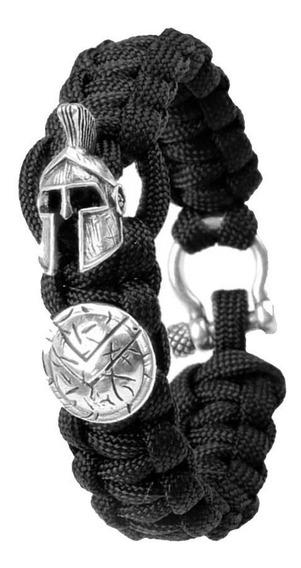 Pulseira Bracelete Paracord Sobrevivencia Tatico Militar 300
