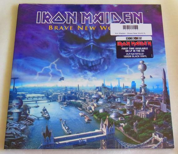 Iron Maiden Brave New World 2lp Record Store Day Usa Lacrado