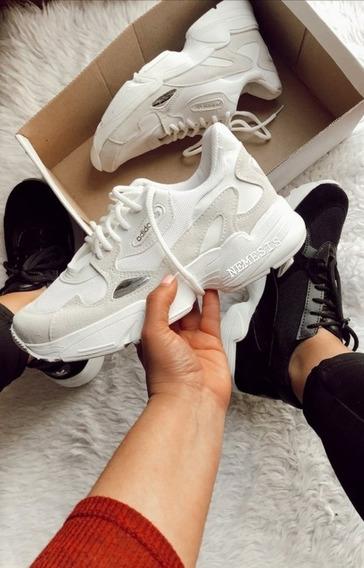 Zapatillas adidas Falcón Blancas
