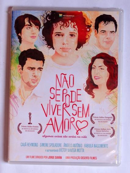 Dvd Não Se Pode Viver Sem Amor (2011) Raro Original Lacrado! | Mercado Livre
