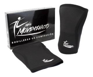 Par De Rodilleras Deportiva Compresión 5mm Crossfit