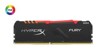 Memoria Ram Pc Ddr4 8gb Hyperx Fury Rgb 2666mhz