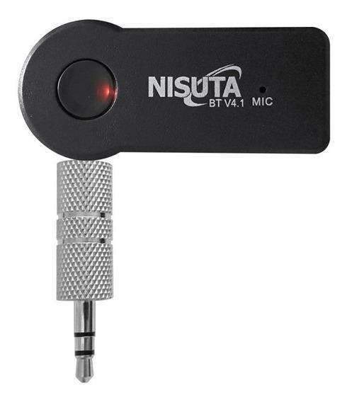 Receptor Bluetooth 3.5mm Auto Parlantes Manos Libres Nisuta