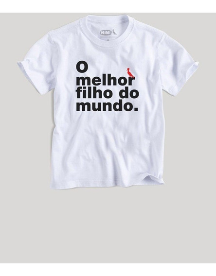 Camiseta Mini Melhor Filho Reserva Mini