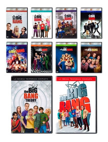 The Big Bang Theory Temporadas 1 2 3 4 5 6 7 8 9 Y 10 Dvd