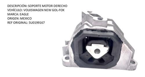 Soporte Motor Derecho Volkswagen New Gol-fox (casa)