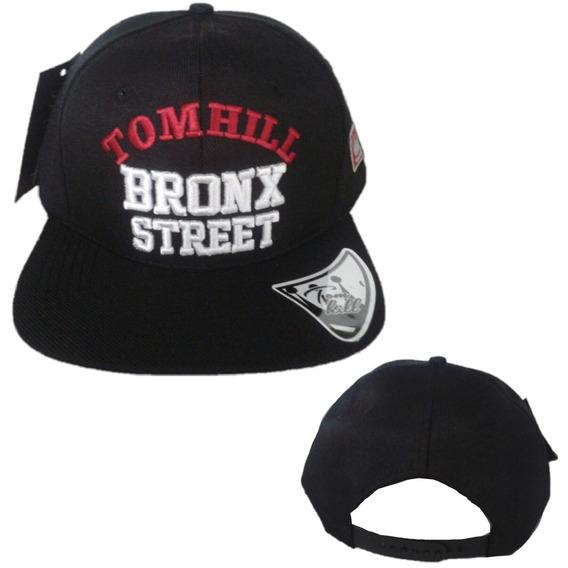 Boné Masculino Feminino Aba Reta Tom Hill Black Street