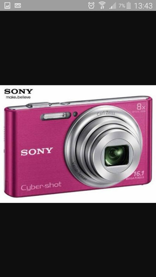 Camera Digital Sony Cybershot 16.1 Rosa
