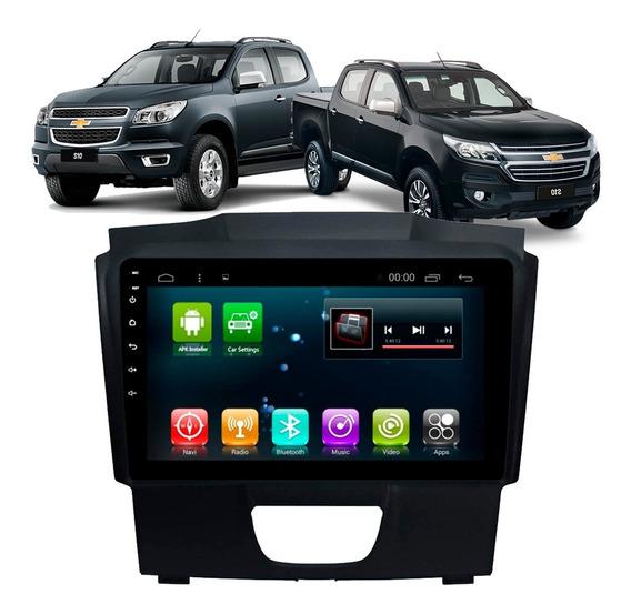 Central Multimídia S10 Chevrolet Gm 2012 2013 2014 Android Gps Espelhamento Usb Sd 10 Polegada Plugplay