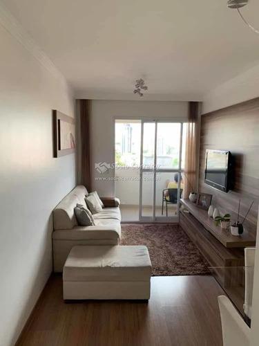 Imagem 1 de 14 de Apto 71m² Condomínio Autentico Gopoúva - Apartamento A Venda No Bairro Gopouva - Guarulhos, Sp - Sc00133