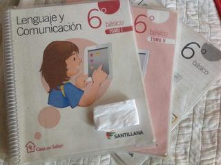 Texto Lenguaje Y Comunic 6 Casa Del Saber Santillana.
