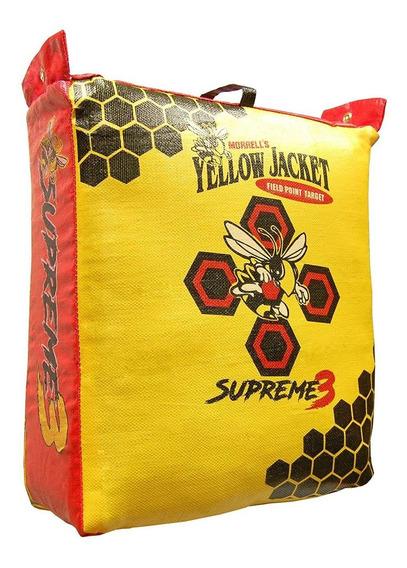Yellow Jacket Supreme 3 Field Point Bag Tiro Con Arco Bla...