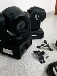 Cabezal Movil Mini Led Spot 10w - Amwood - Moving Head Light