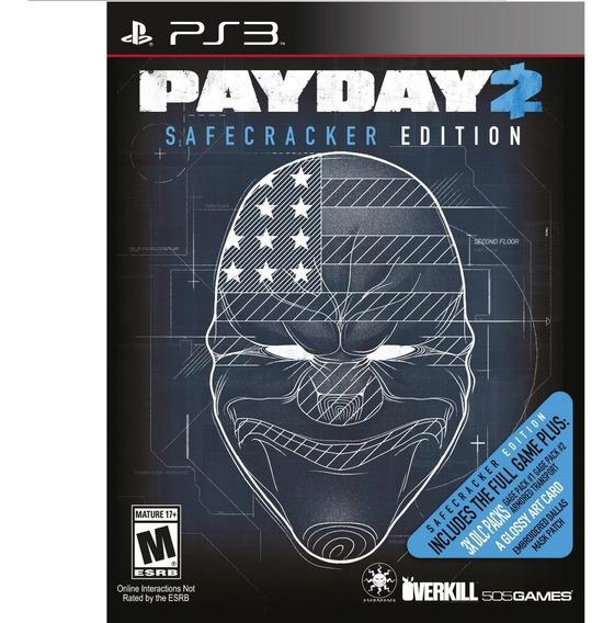 Jogo Ps3 Payday 2 Safecracker Edition Original Lacrado