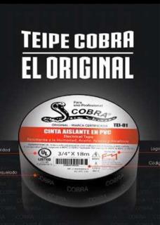 Teipe Cobra Original Troquelado 18 Metros 1 V