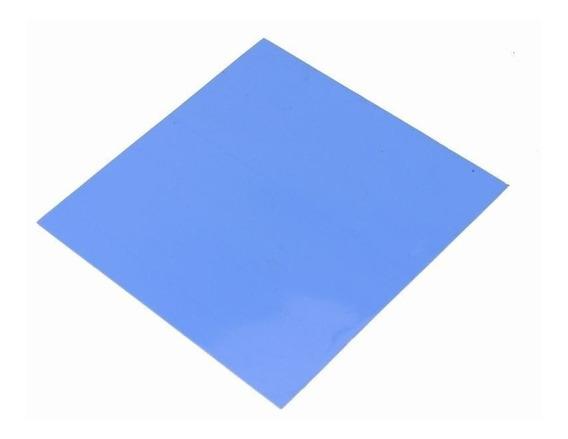 Thermal Pad Térmico Folha Azul 10cm X 10cm X 0.5mm