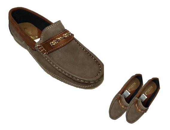 Zapatos Mocasín Para Damas Color Marron Claro