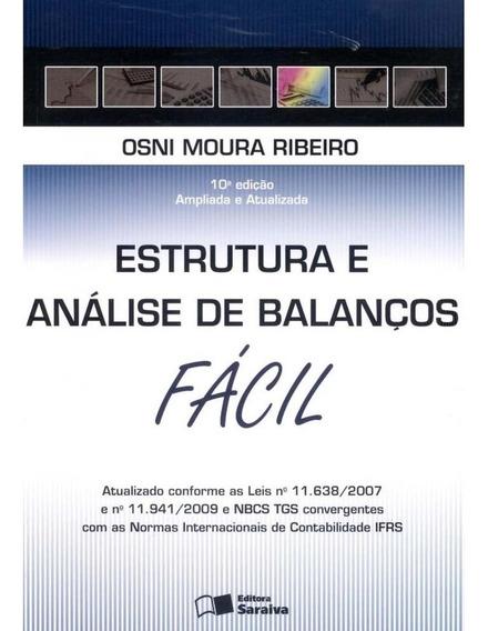 Livro Estrutura E Análise De Balanços Fácil