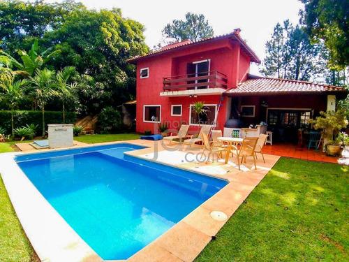 Imagem 1 de 26 de Grandiosa Chácara Com 3 Dormitórios À Venda, 1000 M² Por R$ 1.080.000 - Barão Geraldo - Campinas/sp - Ch0088