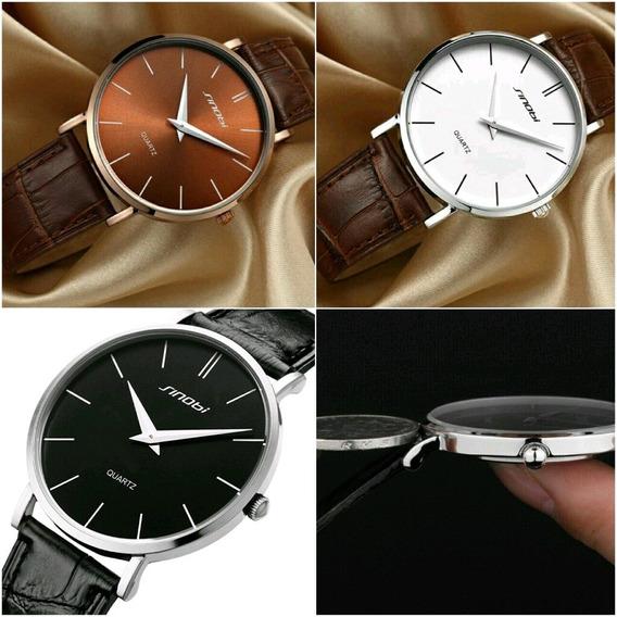 Relógio Sinobi Quartzo 2019 Lançamento