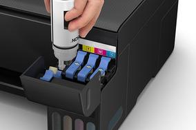 Multifuncional Epson Tanque De Tinta, Colorida Bivolt - L315