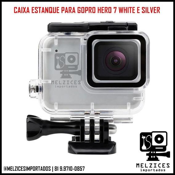 Caixa Estanque Para Gopro Hero 7 Silver E White