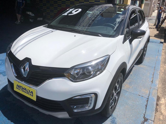 Renault Captur 2019 1.6 Flex Branca