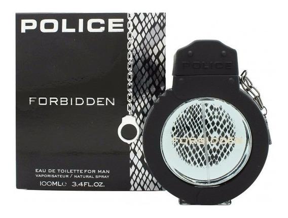 Police Forbidden Eau De Toilette Man 100ml