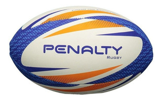 Bola De Rugby Penalty Borracha Branca, Azul ,laranja 2020