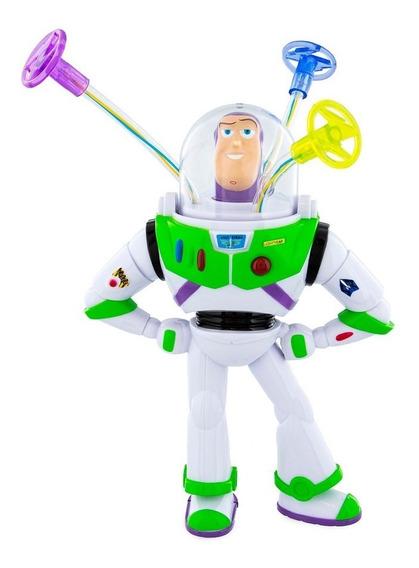 Brinquedo Gira Luz Buzz Lightyear Toy Story Disney Park