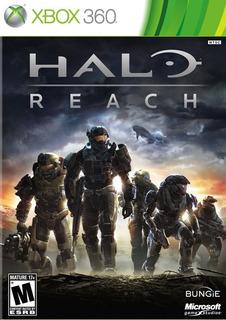 Halo Reach X360 Nuevo Meses